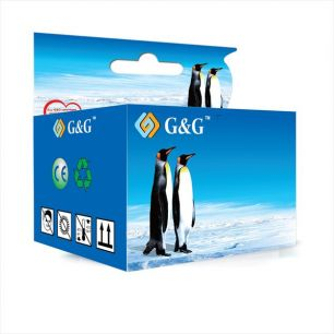 G&G Canon CL546 Color Pack de 3 Cartuchos de Tinta Remanufacturados - Eco Saver - Muestra Nivel de T