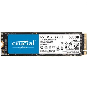 DISCO DURO SSD 500GB CRUCIAL M.2 2280 PCI EXPRESS NVME CT500P2SSD8