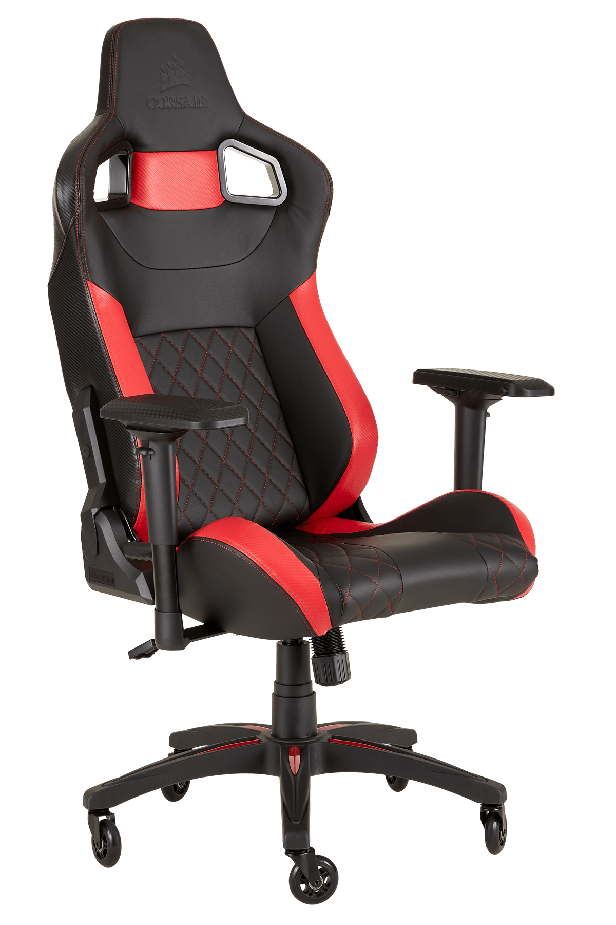SILLA GAMING  CORSAIR T1 RACE BLACK AND RED
