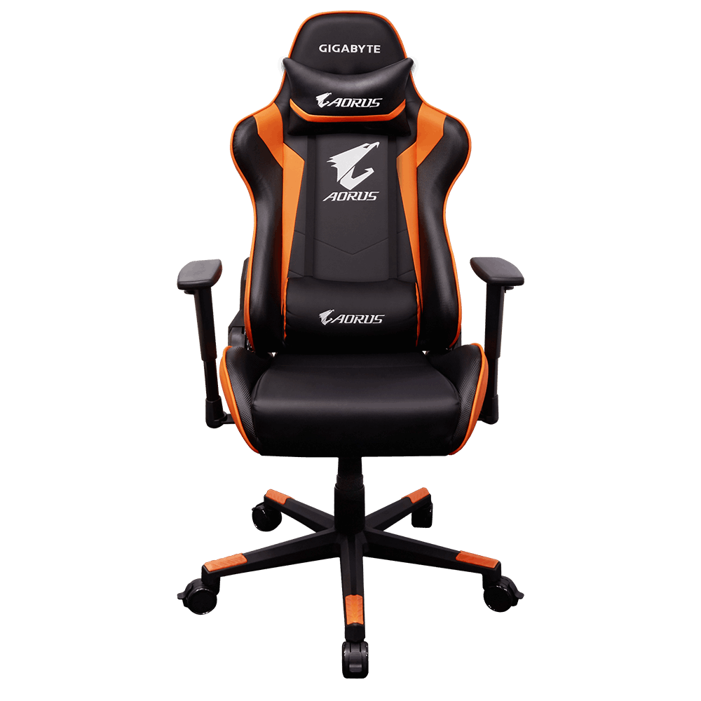 SILLA GAMING  GIGABYTE AGC300 BLACK AND ORANGE