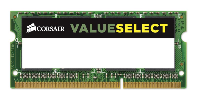MEMORIA SODIMM DDR3 4GB PC3-12800 1600MHZ CORSAIR CL11 1.35V