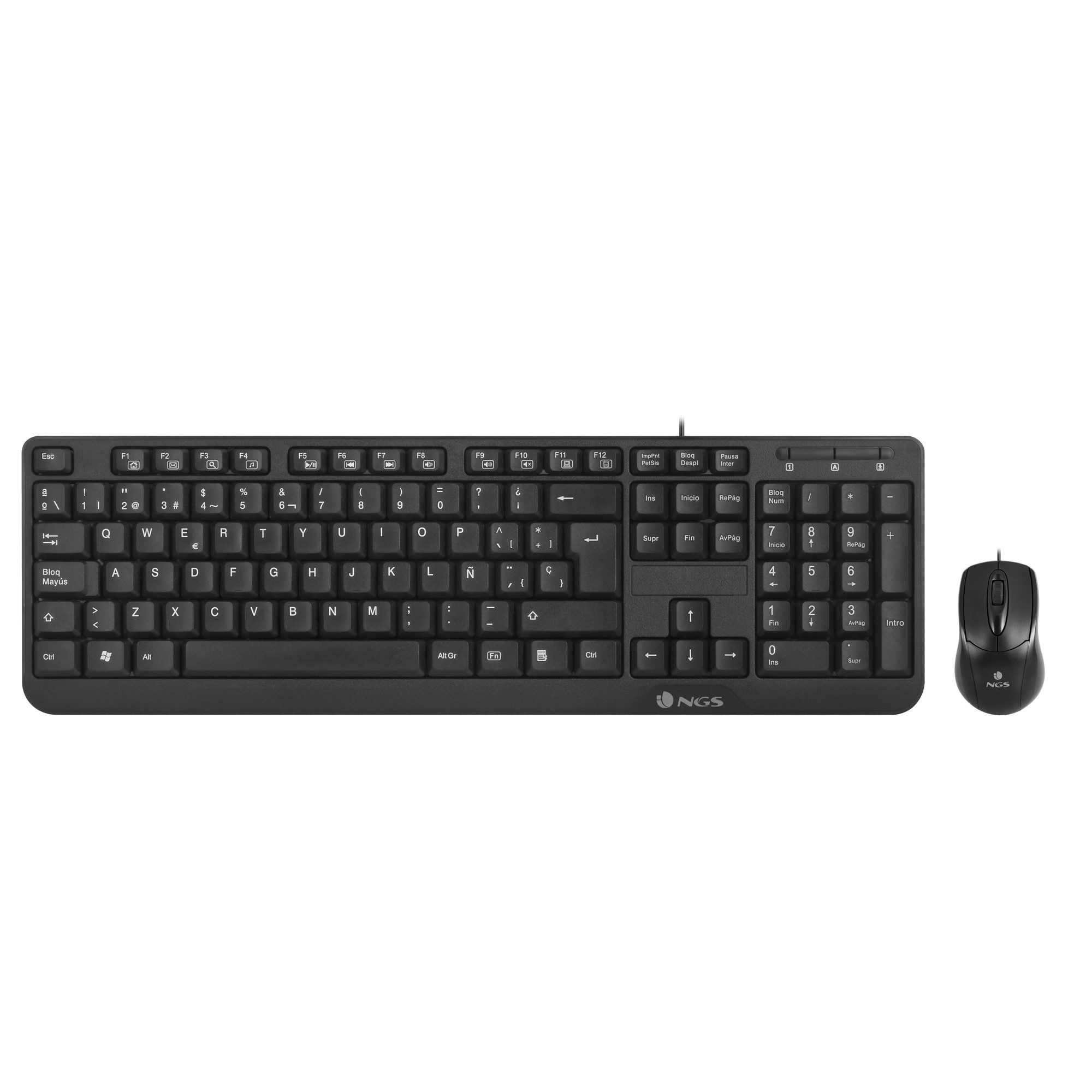 TECLADO  NGS KIT T+R COCOAKIT USB