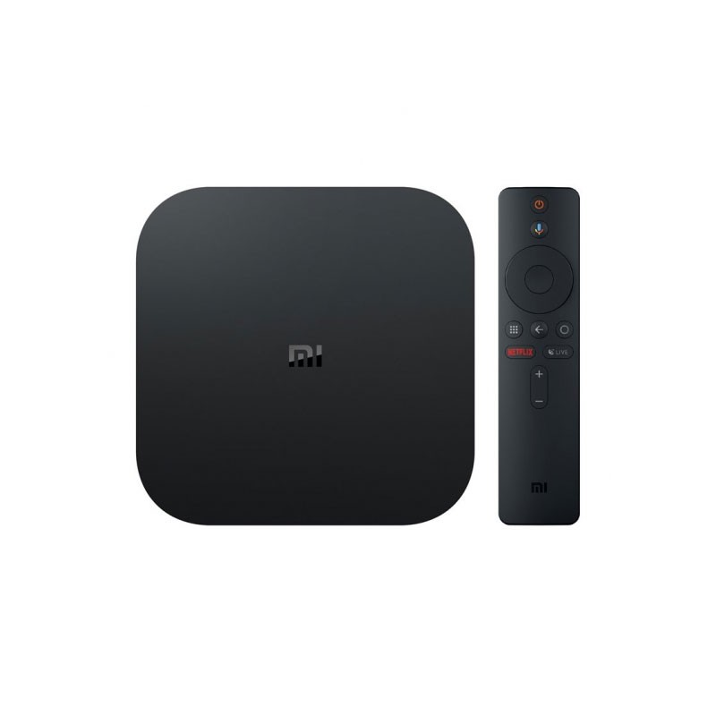 TV  SMART TV XIAOMI MI TV BOX 4K QCA53 2GB 8GB WF BT HDMI USB REPROD CONTROL VOZ