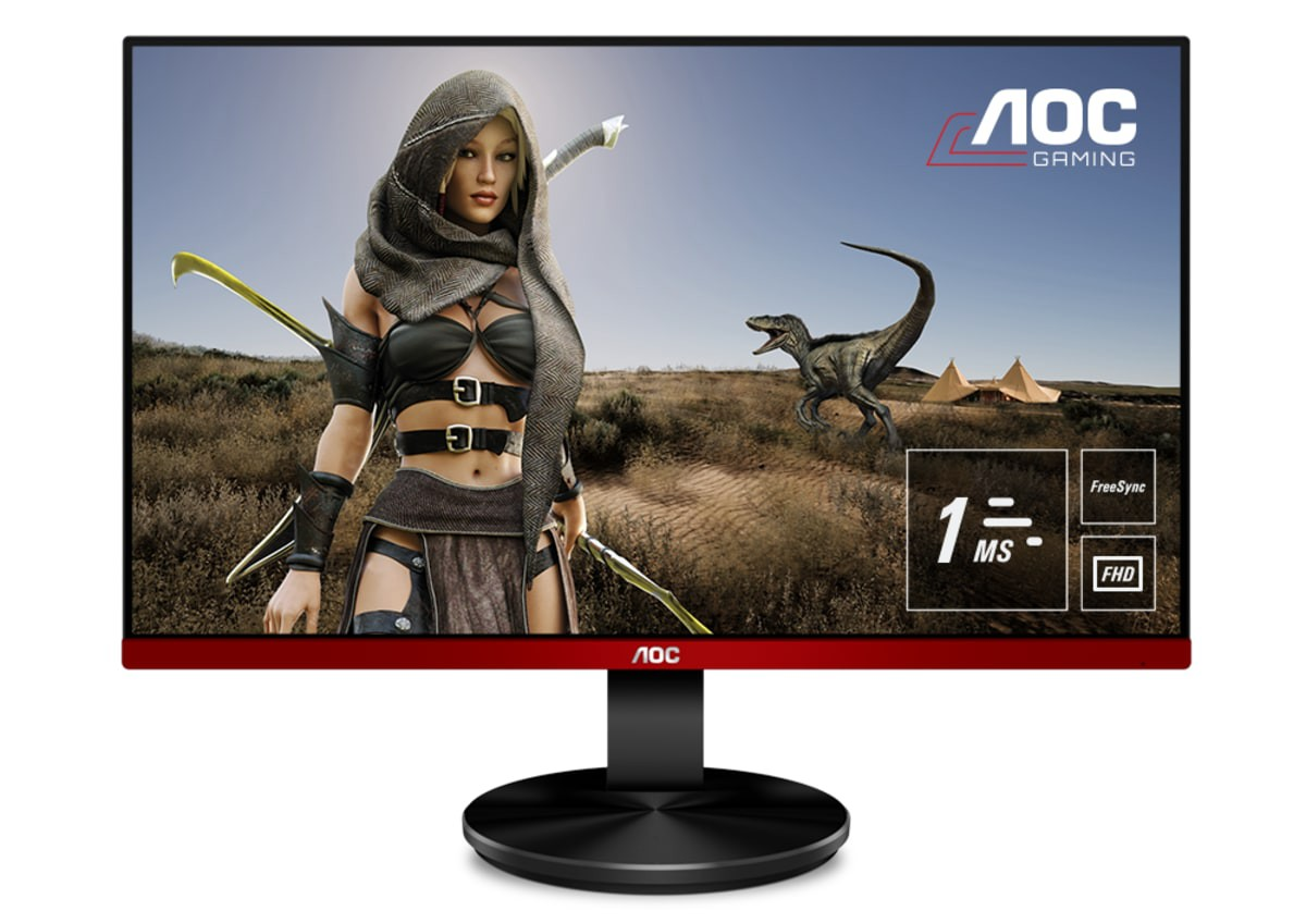 MONITOR 24.5 LED AOC G2590VXQ 1920X1080 VGA 2HDMI DISPLAYPORT GAMING 2X2W MATE