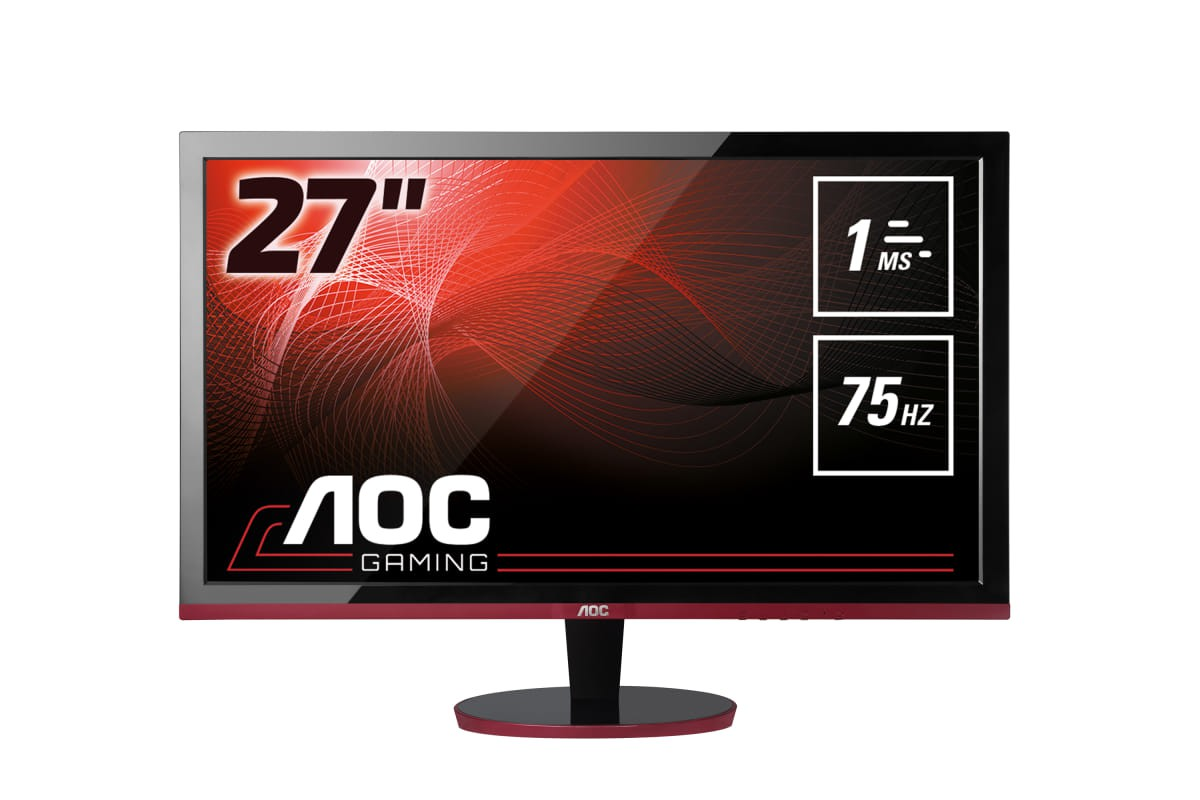 MONITOR 27 LED AOC G2778VQ 1920X1080 FHD VGA HDMI DISPLAYPORT GAMING 2X2W MATE