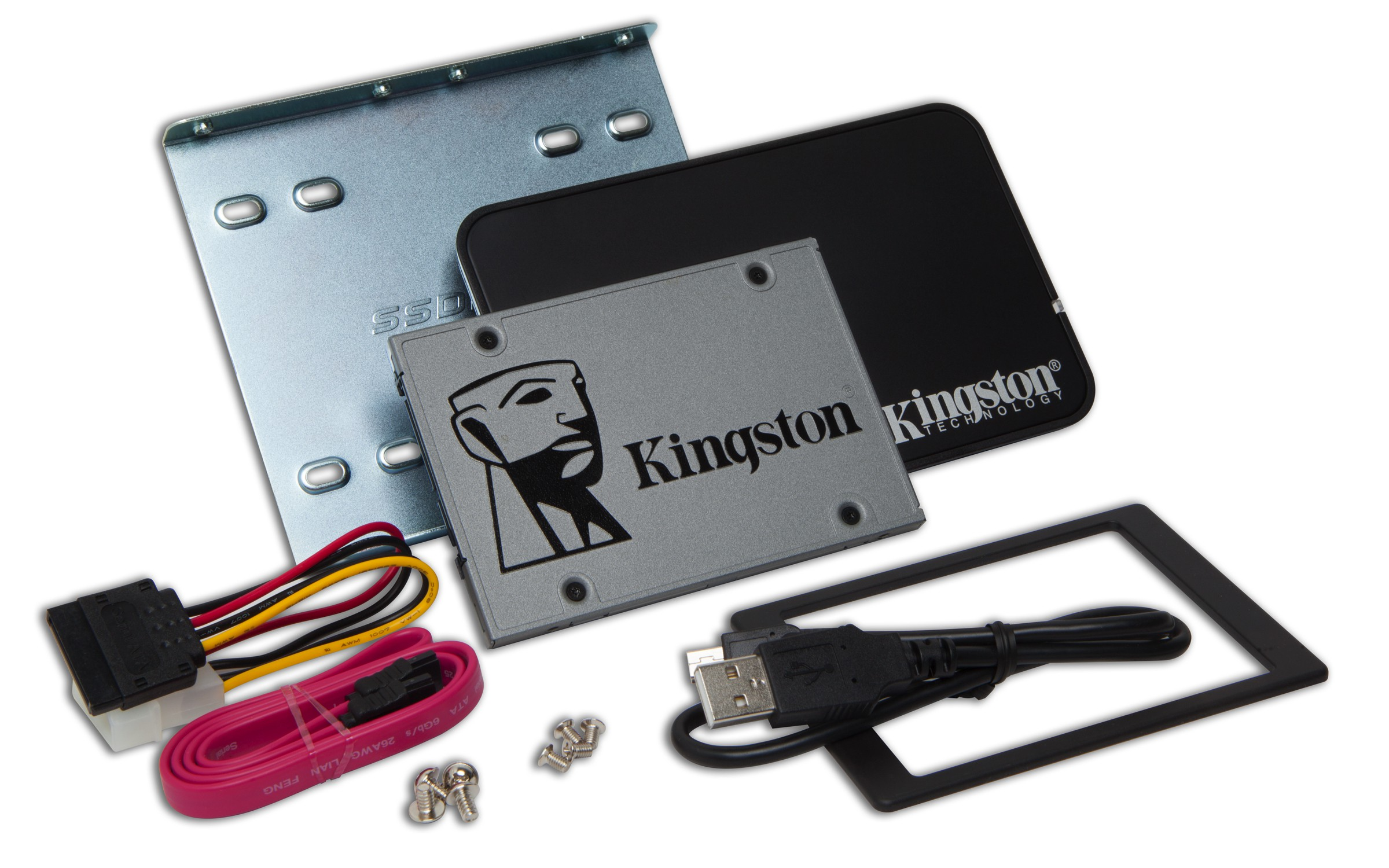 HD  SSD  480GB KINGSTON  2.5 SATA3 DESKTOP/NOTEBOOK UPGRADE KIT SUV500B/240G